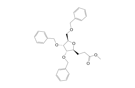 METHYL-4,7-ANHYDRO-5,6,8-TRI-O-BENZYL-2,3-DIDEOXY-D-ALLO-OCTONATE
