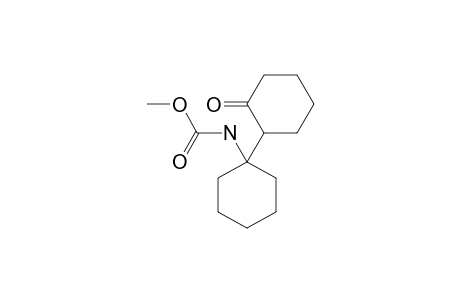 N-[1-(2-ketocyclohexyl)cyclohexyl]carbamic acid methyl ester