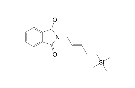 3-hydroxy-2-[(E)-5-trimethylsilylpent-2-enyl]-3H-isoindol-1-one