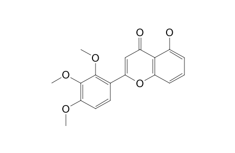 5-HYDROXY-2',3',4'-TRIMETHOXYFLAVONE
