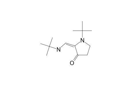1-(1,1-DIMETHYLETHYL)-2-[[(1,1-DIMETHYLETHYL)-AMINO]-METHYLENE]-3-PYRROLIDINONE