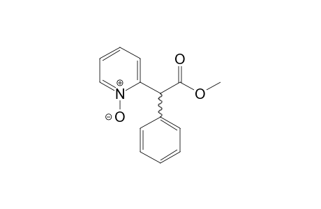 alpha-PHENYL-2-PYRIDINEACETIC ACID, METHYL ESTER, 1-OXIDE