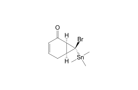 (1-ALPHA,6-ALPHA,7-ALPHA)-7-BrOMO-7-TRIMETHYLSTANNYLBICYClO-[4.1.0]-HEPT-3-EN-2-ONE