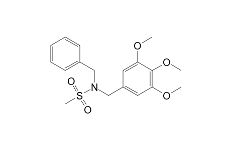 N-benzyl-N-(3,4,5-trimethoxybenzyl)methanesulfonamide