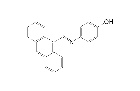 p-{[(9-anthryl)methylene]amino}phenol
