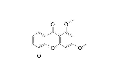 5-HYDROXY-1,3-DIMETHOXY-XANTHONE