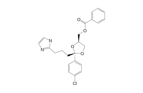 CIS-2-(4-CHLOROPHENYL)-2-[3-(2-IMIDAZOLYL)-PROPYL]-4-(BENZOYLOXYMETHYL)-1,3-DIOXOLANE