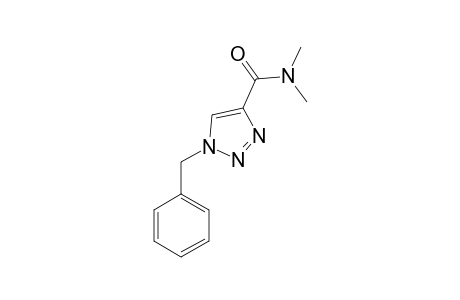 1-BENZYL-N,N-DIMETHYL-1,2,3-TRIAZOLE-4-CARBOXAMIDE;COMPOUND-#13A