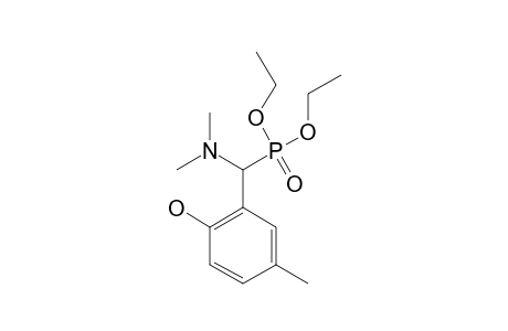 DIETHYL-(DIMETHYLAMINO)-(2-HYDROXY-5-METHYLPHENYL)-METHYLPHOSPHONATE