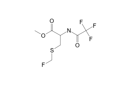 METHYL-N-TRIFLUOROACETYL-3-FLUOROMETHYLTHIO-2-AMINO-PROPANOATE