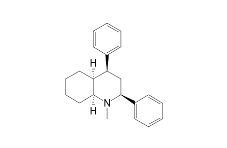 N-METHYL-2-,4-DIPHENYL-CIS-DECAHYDROQUINOLINE