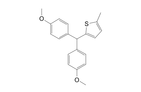 2-[BIS-(4-METHOXYPHENYL)-METHYL]-5-METHYLTHIOPHENE
