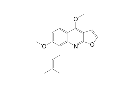 7-METHOXY-8-(3,3-DIMETHYLALLYL)-DICTAMNINE