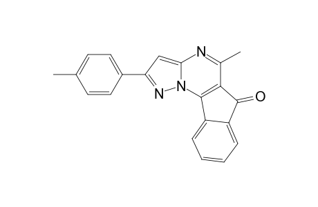 5-METHYL-2-(4-METHYLPHENYL)-6H-INDENO-[2,1-E]-PYRAZOLO-[1,5-A]-PYRIMIDIN-6-ONE