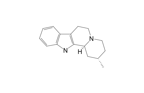 (2S,12bS)-2-methyl-1,2,3,4,6,7,12,12b-octahydropyrido[2,1-a]$b-carboline