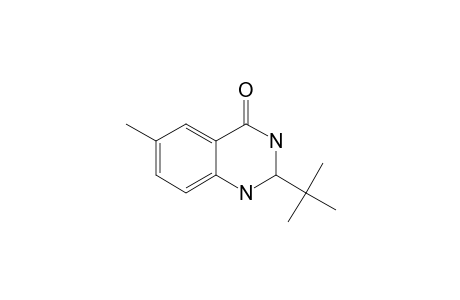 2-TERT.-BUTYL-6-METHYL-1,2-DIHYDRO-3-H-QUINAZOLIN-4-ONE