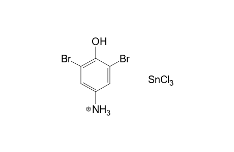 4-AMINO-2,6-DIBROMOPHENOL, DIHYDROCHLORIDE, COMPOUND WITH TIN CHLORIDE