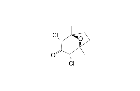 ENDO-2,ENDO-4-DICHLORO-1,5-DIMETHYL-8-OXABICYCLO-[3.2.1]-OCTAN-3-ONE