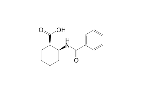(-)-cis-2-benzamidocyclohexanecarboxylic acid