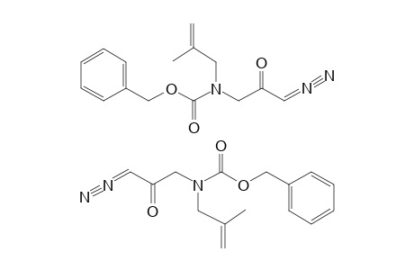 1-(M-CARBOBENZYLOXY-N-METHALLYL)-AMINO-1'-DIAZOPROPANONE