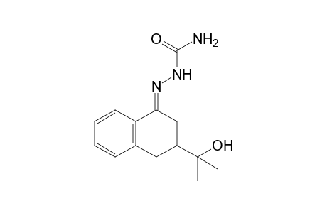 3,4-dihydro-3-(1-hydroxy-1-methylethyl)-1(2H)-naphthalenone, semicarbazone