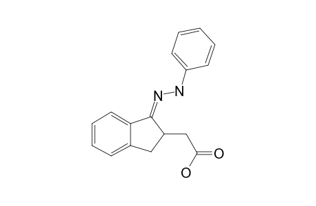 2-CARBOXYMETHYLEN-INDAN-1-ONE-PHENYLHYDRAZONE