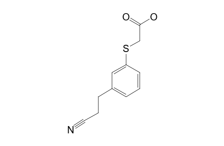 [[3-(2-CYANOETHYL)-PHENYL]-THIO]-ACETIC-ACID