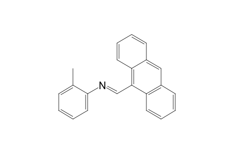 N-[(9-anthryl)methylene]-o-toluidine