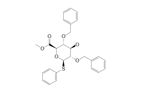 METHYL-(PHENYL-2,4-DI-O-BENZYL-1-THIO-BETA-D-GLUCOPYRANOSIDE)-URONATE