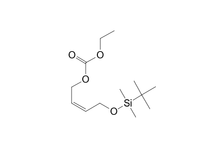 [(Z)-4-TERT.-BUTYLDIMETHYLSILYLOXY-2-BUTENYL]-ETHYL-CARBONATE