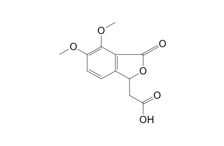 4,5-dimethoxy-3-oxo-1-phthalanacetic acid