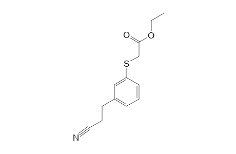 ETHYL-[[3-(2-CYANOETHYL)-PHENYL]-THIO]-ACETATE