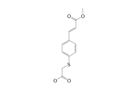METHYL-(2E)-3-[4-(CARBOXYMETHYLTHIO)-PHENYL]-PROP-2-ENOATE