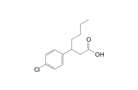 beta-butyl-p-chlorohydrocinnamic acid