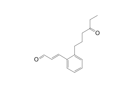 E-3-[2-(4-OXO-1-HEXYL)-PHENYL]-PROPENAL