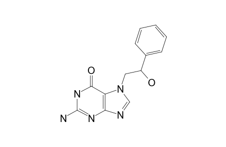 2-AMINO-7-(2-HYDROXY-2-PHENYLETHYL)-PURIN-6-ONE