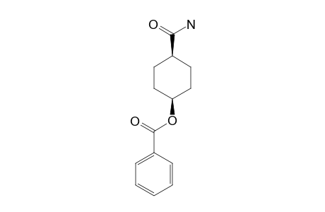 CIS-4-BENZOYLOXYCYCLOHEXANEAMINDE