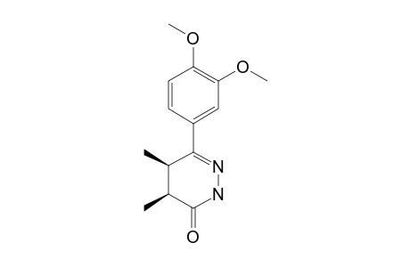 CIS-6-(3,4-DIMETHOXYPHENYL)-4,5-DIMETHYL-4,5-DIHYDRO-2H-PYRIDAZIN-3-ONE