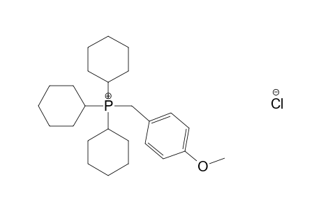 (p-METHOXYBENZYL)TRICYCLOHEXYLPHOSPHONIUM CHLORIDE