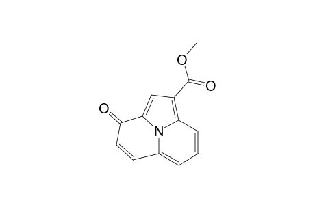METHYL-3-OXO-3H-PYRROLO-[2,1,5-DE]-QUINOLIZINE-1-CARBOXYLATE