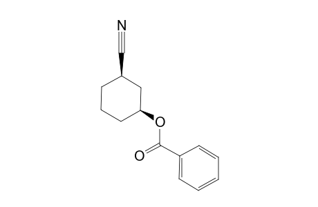CIS-3-BENZOYLOXYCYCLOHEXANECARBONITRILE