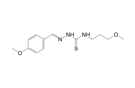 1-(p-methoxybenzylidene)-4-(3-methoxypropyl)-3-thiosemicarbazide