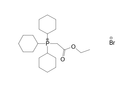 (CARBOXYMETHYL)TRICYCLOHEXYLPHOSPHONIUM BROMIDE, ETHYL ESTER