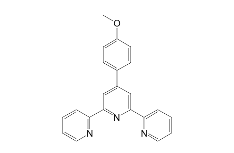 4'-(p-methoxyphenyl)-2,2'.6',2''-terpyridine