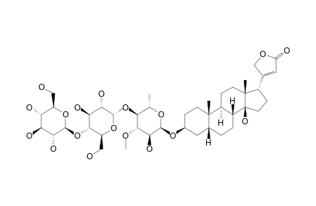 17-ALPHA-DIGITOXIGENIN-BETA-CELLOBIOSYL-(1->4)-ALPHA-L-THEVETOSIDE
