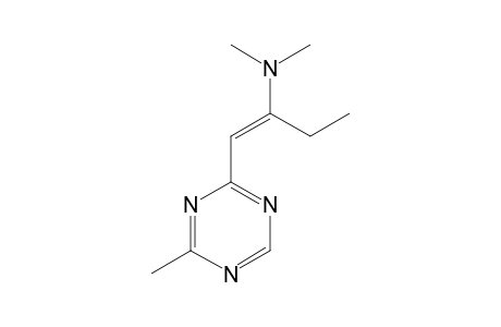 2-[2-(DIMETHYLAMINO)-1-BUTENYL]-4-METHYL-s-TRIAZINE
