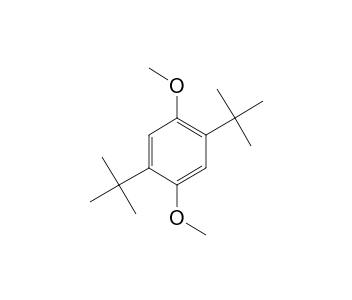 1 4 di t butyl 2 5 dimethoxybenzene nmr