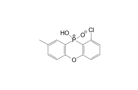 1-chloro-10-hydroxy-8-methylphenoxaphosphine, 10-oxide