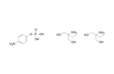phosphoric acid, mono(p-nitrophenyl)ester, compound with 2-amino-2-ethyl-1,3-propanediol(1:2)