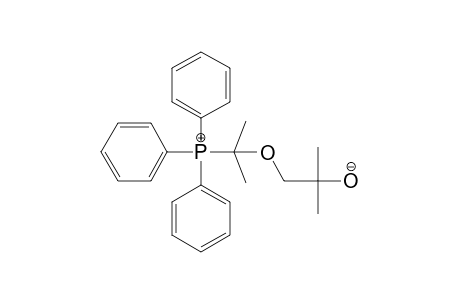 1-((1',1'-DIMETHYL-1'-TRIPHENYLPHOSPHONIOMETHYL)-OXY)-2-METHYLPROPAN-2-OLATE